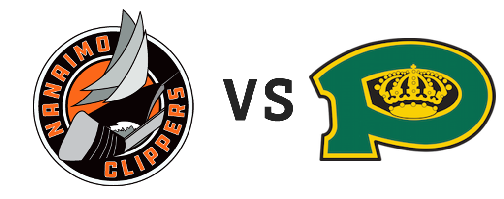 Nanaimo Clippers vs Powell River Kings