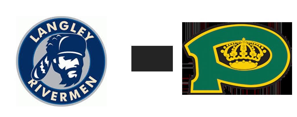 Langley Rivermen vs Powell River Kings