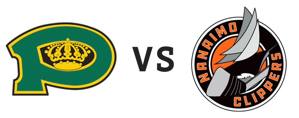 Powell River Kings vs Nanaimo Clippers