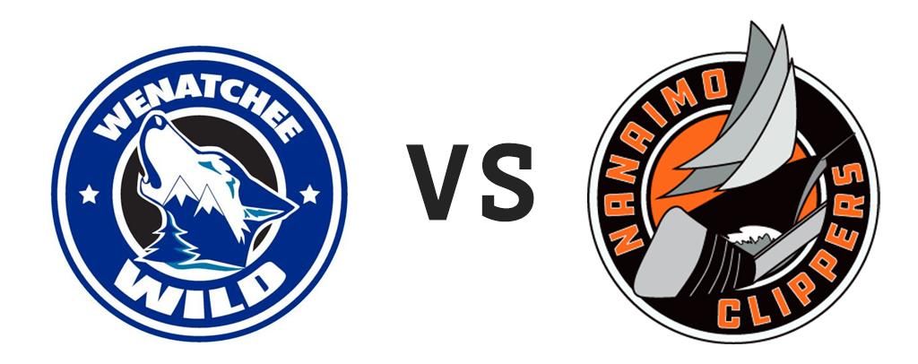 Wenatchee Wild vs Nanaimo Clippers