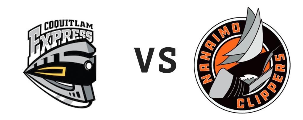 Coquitlam Express vs Nanaimo Clippers