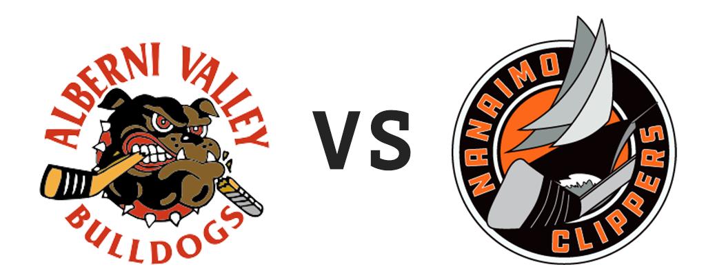 Alberni Valley Bulldogs vs Nanaimo Clippers