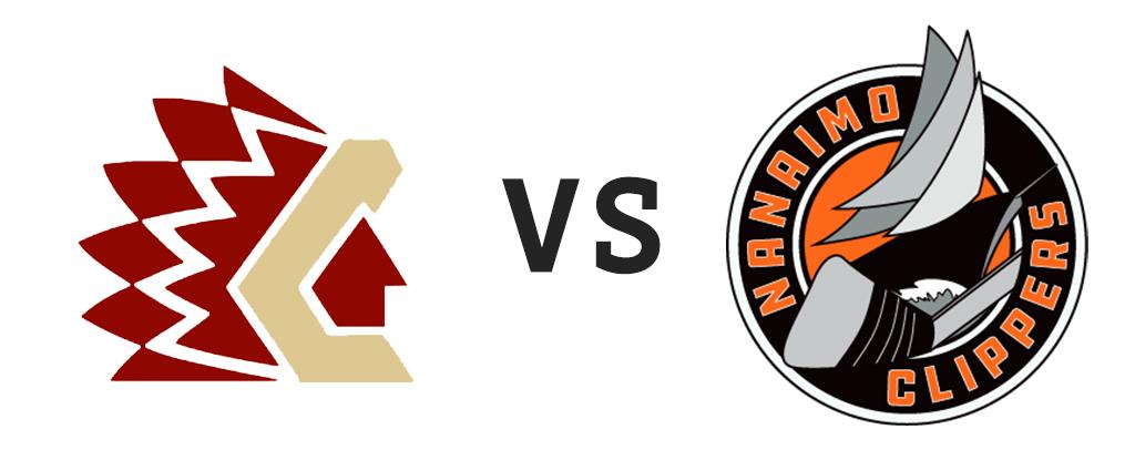Chilliwack Chiefs vs Nanaimo Clippers
