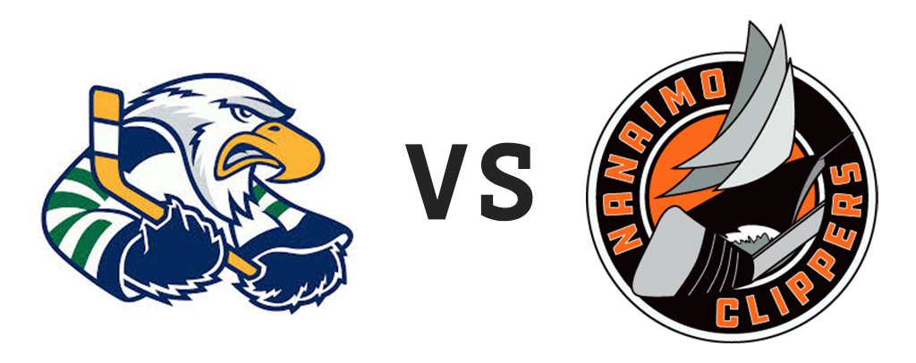 Surrey Eagles vs Nanaimo Clippers