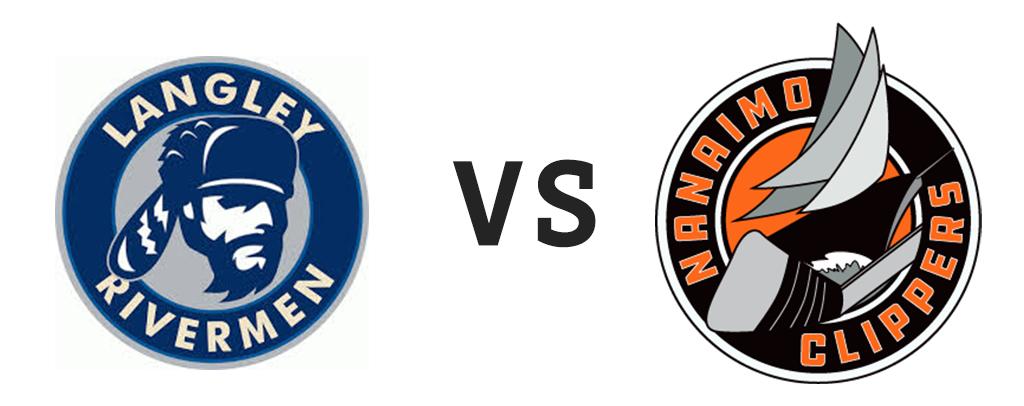 Langley Rivermen vs Nanaimo Clippers