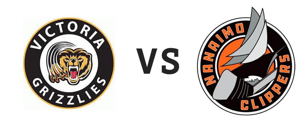 Victoria Grizzlies vs Nanaimo Clippers