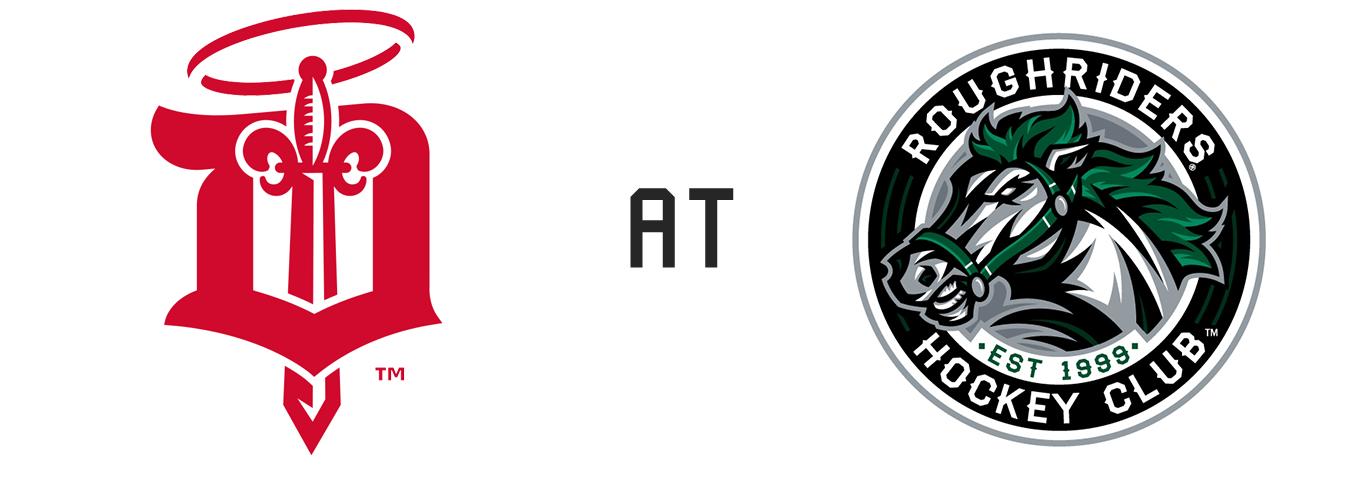 Dubuque Fighting Saints vs Cedar Rapids RoughRiders