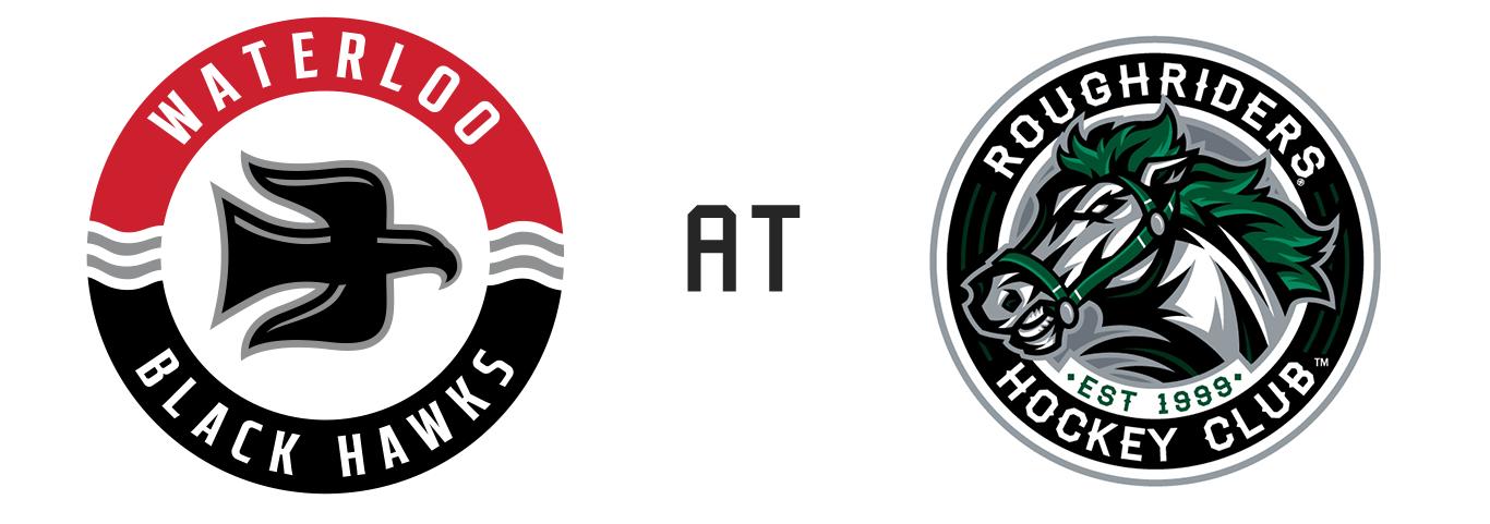 Waterloo Black Hawks vs Cedar Rapids RoughRiders