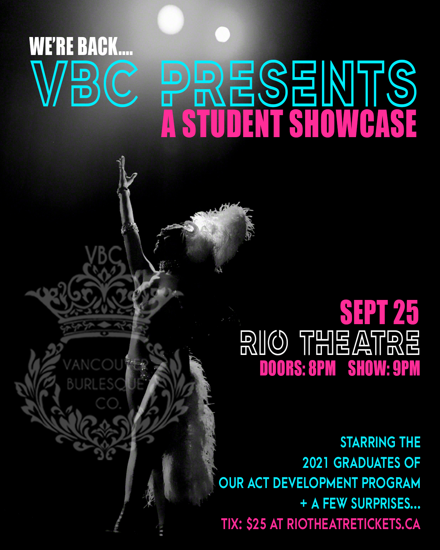 VBC Presents: A Student Showcase