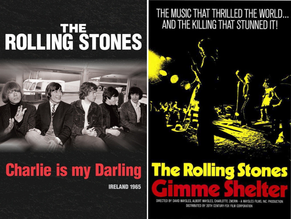The Rolling Stones: Charlie Is My Darling & Gimme Shelter