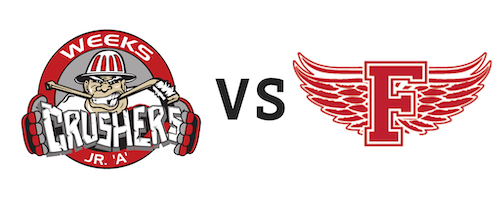 Pictou County Weeks Crushers vs Fredericton Red Wings