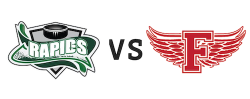 Grand Falls Rapids vs Fredericton Red Wings