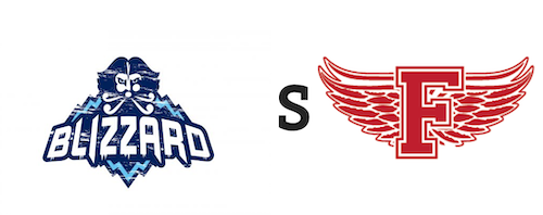 Edmundston Blizzard vs Fredericton Red Wings