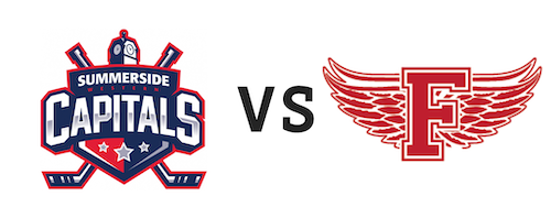 Summerside Western Capitals vs Fredericton Red Wings
