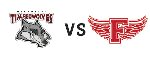 Miramichi Timberwolves vs Fredericton Red Wings