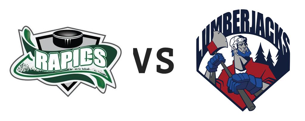 Grand Falls Rapids vs South Shore Lumberjacks