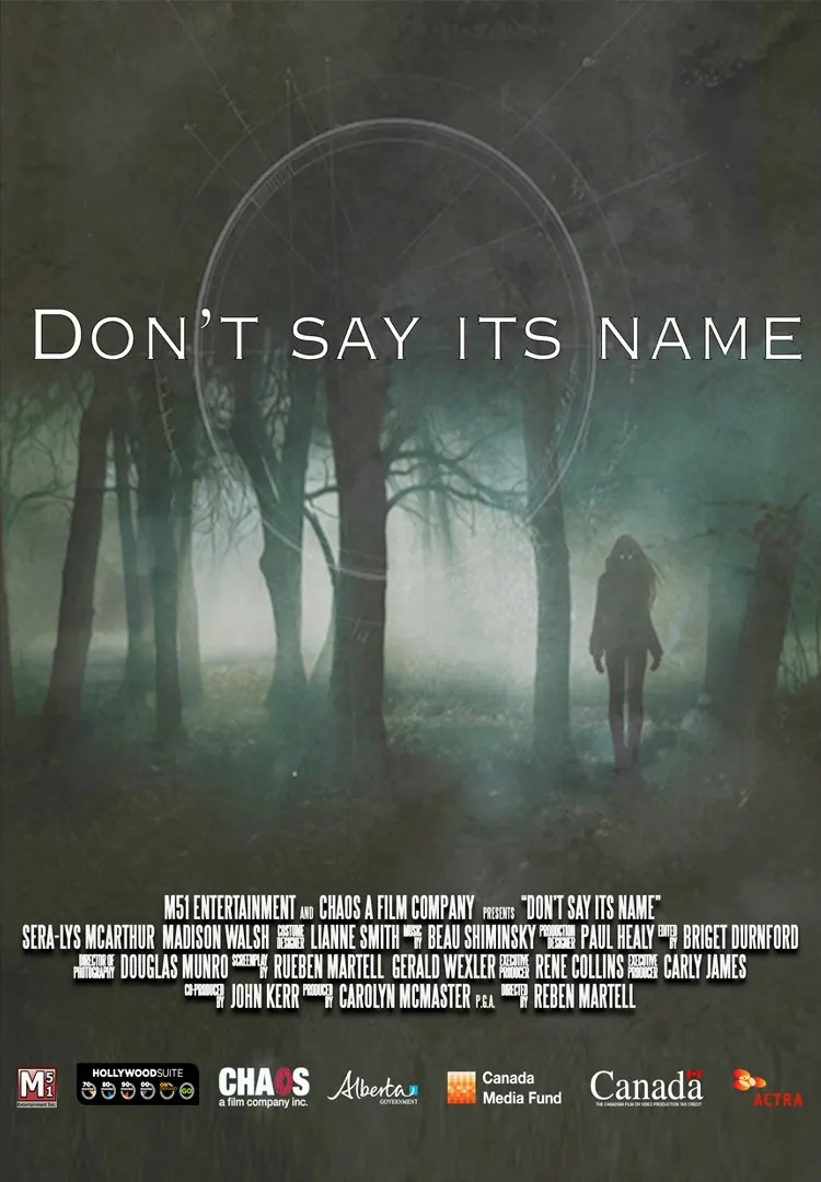 Don't Say Its Name (BC Premiere! With Director Q&A)