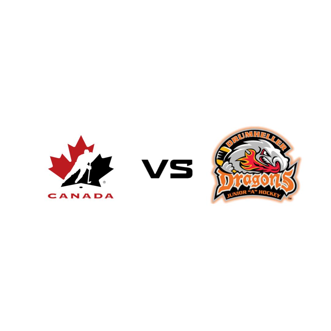 Canadian National Womens Team vs Drumheller Dragons
