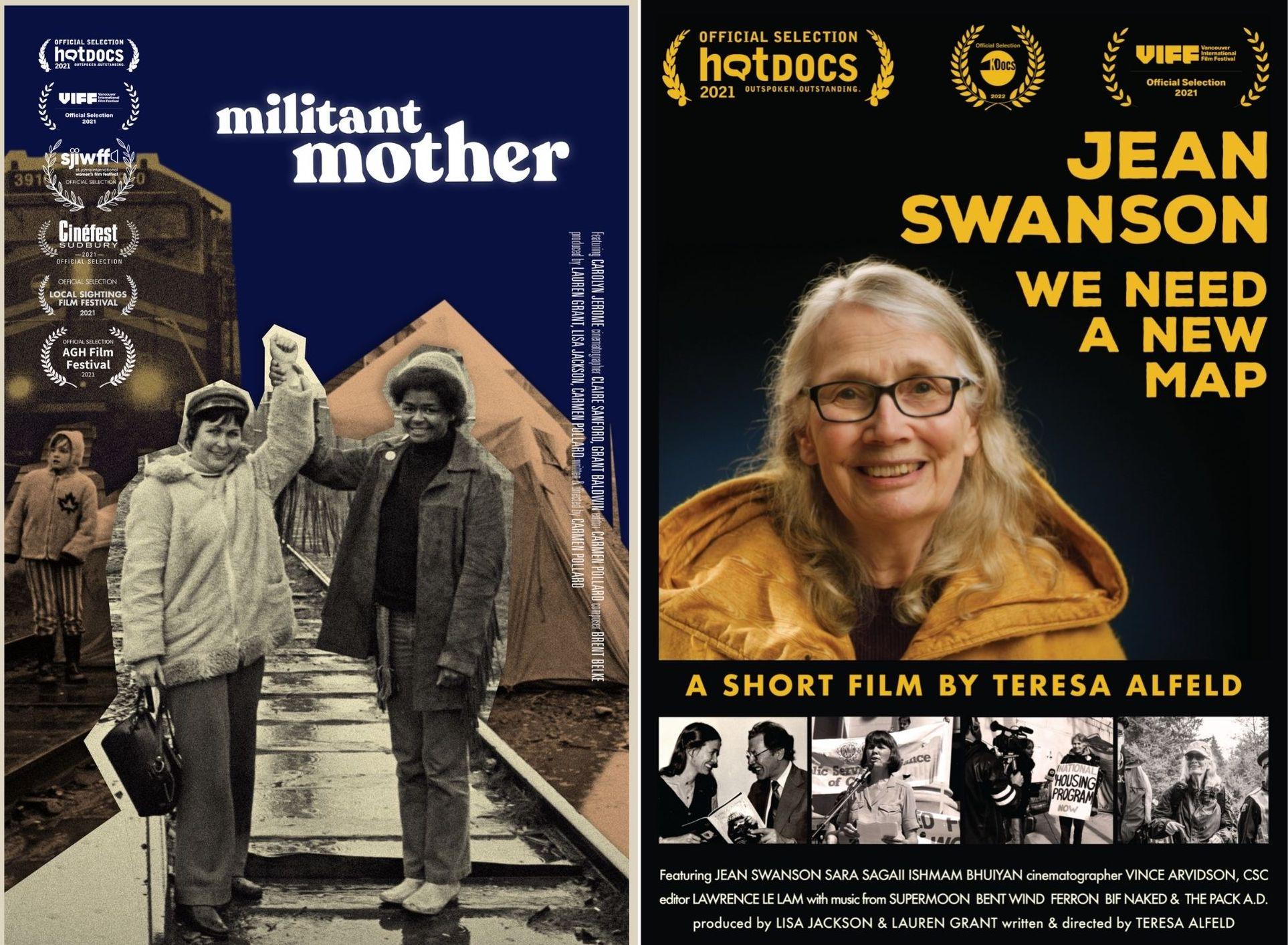 Hot Docs + Women Transforming Cities present Militant Mothers + Jean Swanson: We Need a New Road Map   Roundtable Discussion +  Q&A