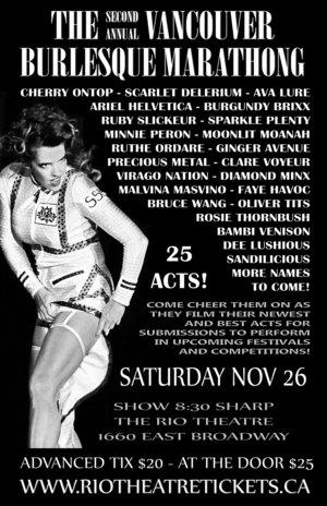 Vancouver Burlesque Marathong