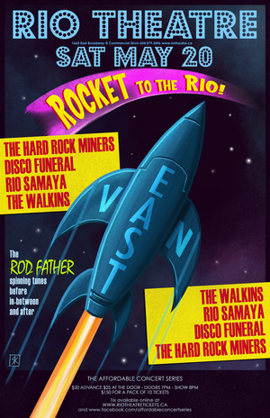 Affordable Concert Series: Rocket To The Rio