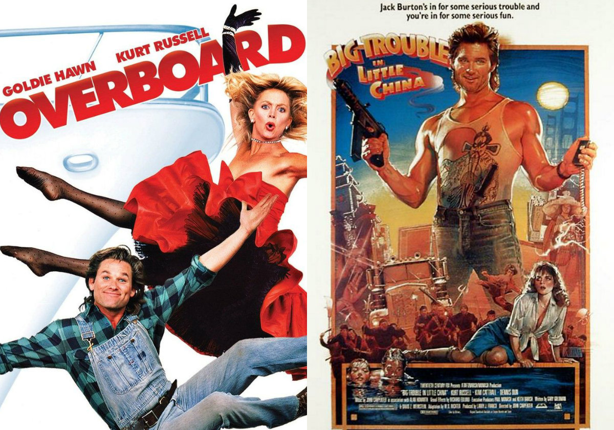 Overboard (WIth or w/out 'Big Trouble in Little China' Double Bill Option)