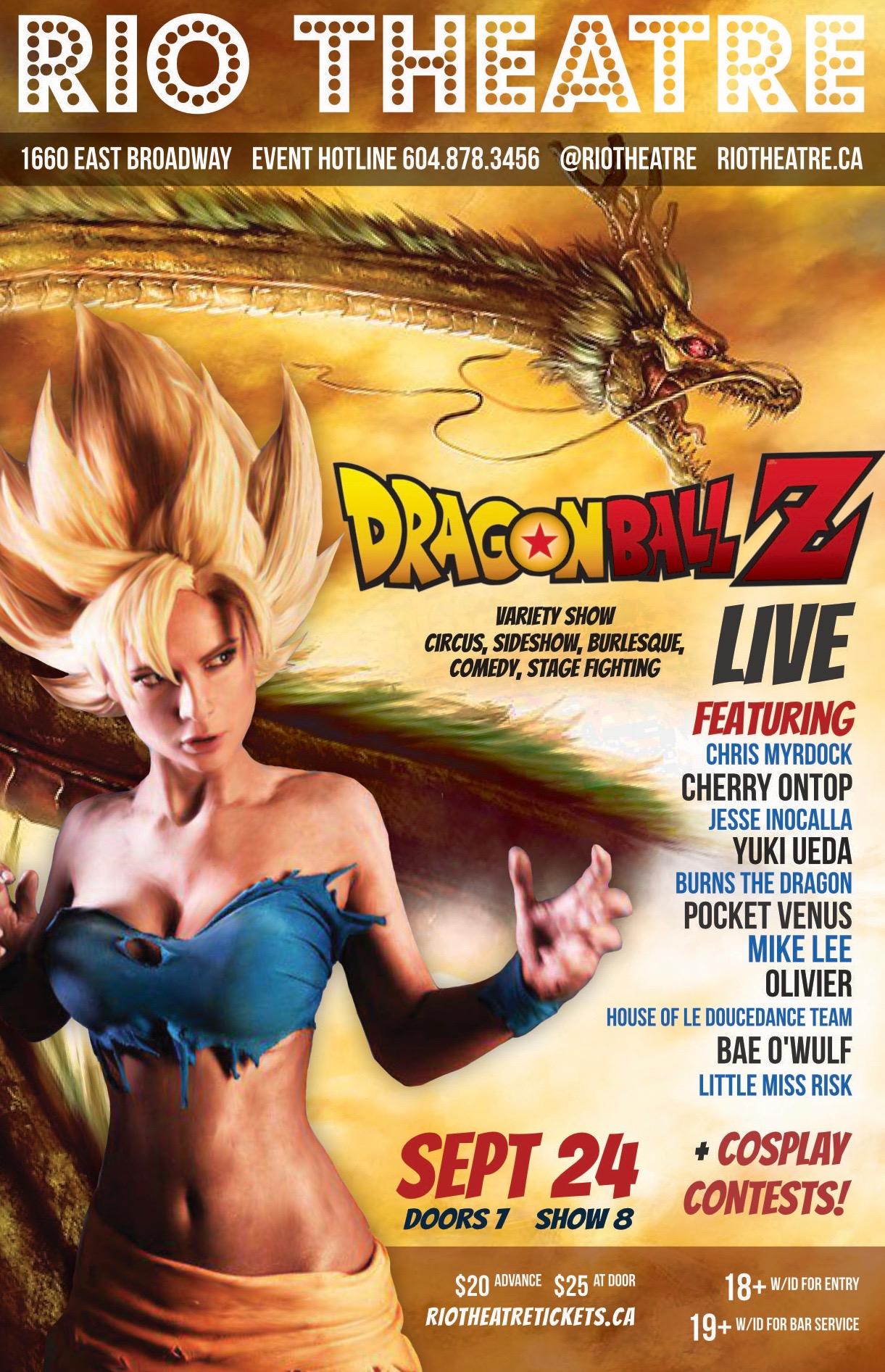 Dragonball Z Live! Variety Show