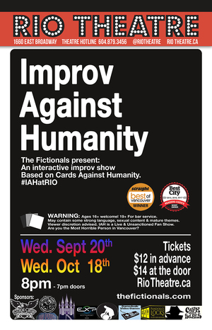 Improv Against Humanity: Paranormal Hilarity