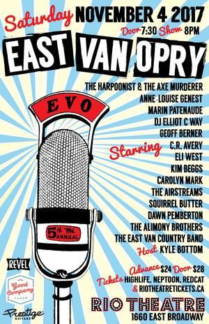 East Van Opry 2017