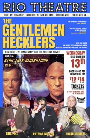 The Gentlemen Hecklers Presents Star Trek: Generations (1994)