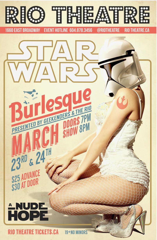 The Geekenders Presents A Nude Hope: A Sci-Fi Burlesque Adventure