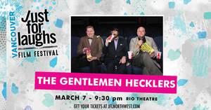 The Gentlemen Hecklers present Twilight