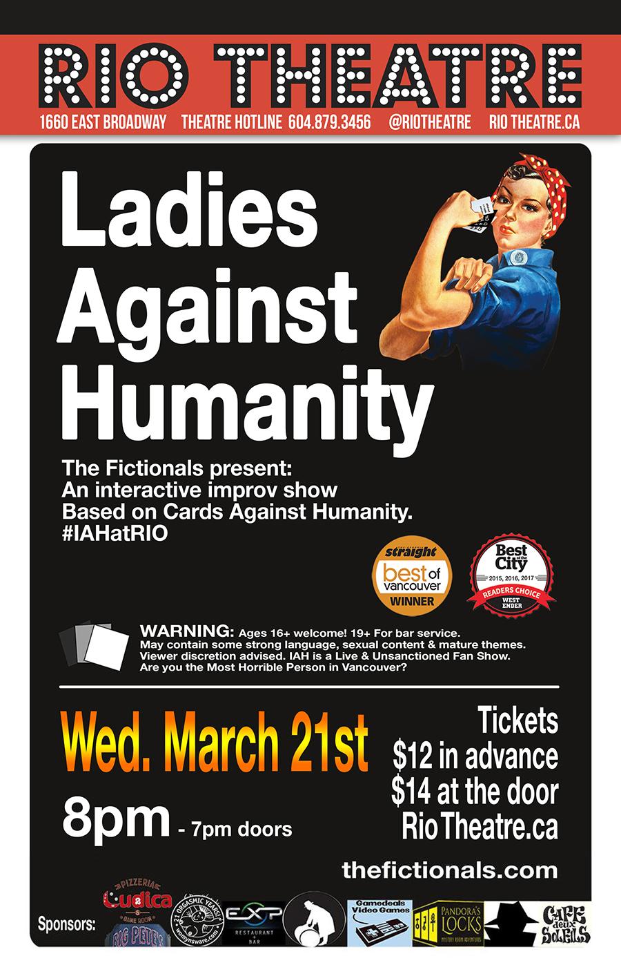 Ladies Against Humanity: Live