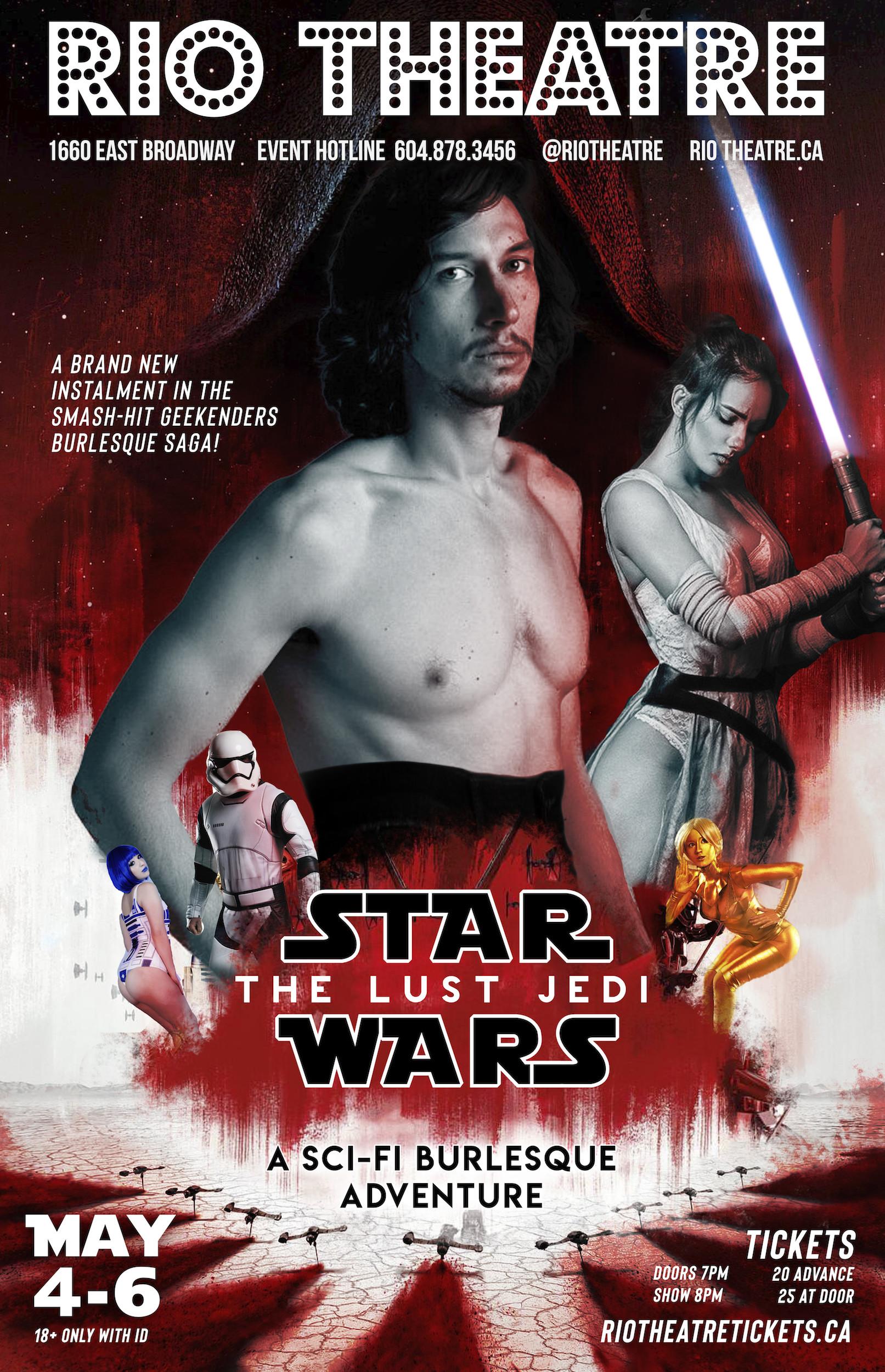 The Lust Jedi: A Sci-Fi Burlesque Adventure