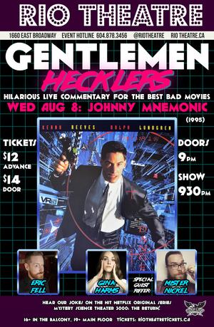 The Gentlemen Hecklers Present Johnny Mnemonic