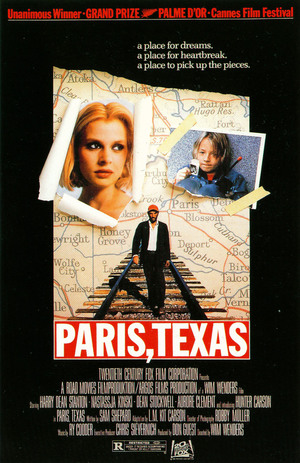 Wim Wenders' Paris, Texas