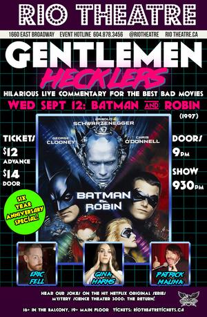 The Gentlemen Hecklers Present Batman & Robin