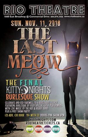 Kitty Nights Burlesque: The Last Meow