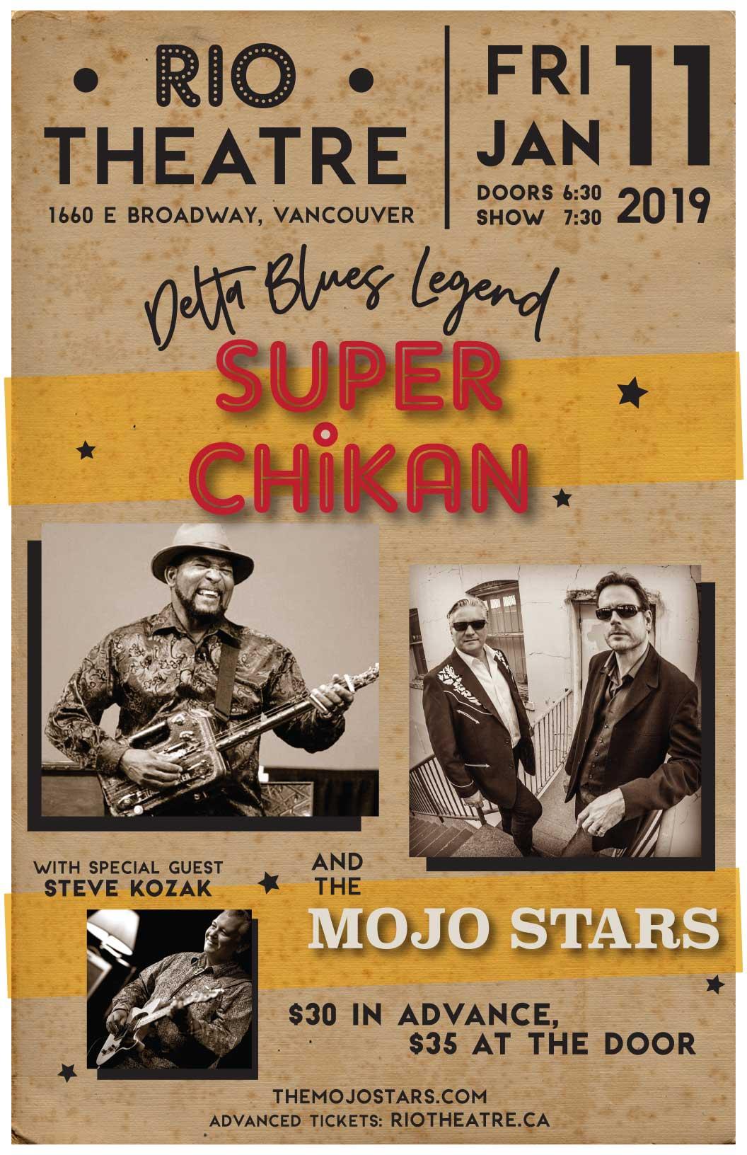 Super Chikan and The Mojo Stars